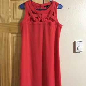 Coral Light Wright Dress